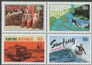 AUS SG3929-32 Surfing Australia block of 4